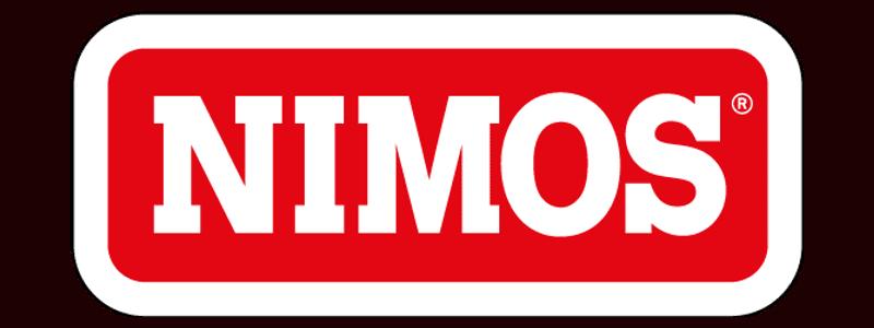 Logo van Nimos in kleur.