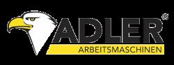Logo van Adler in kleur.