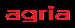 Logo van Agria in kleur.