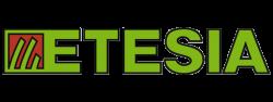 Logo van Etesia in kleur.