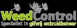 Logo Weed Control in kleur.